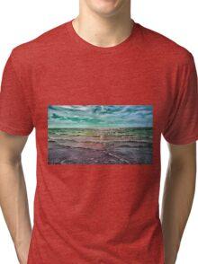 .Rainbow Waters Tri-blend T-Shirt