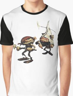 Fantasy Mining Gnomes from Faeries Graphic T-Shirt
