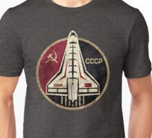 CCCP Space Shuttle Emblem Unisex T-Shirt