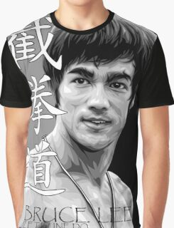 Bruce Lee - Jeet Kune Do Martial Art Graphic T-Shirt