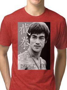 Bruce Lee - Jeet Kune Do Martial Art Tri-blend T-Shirt