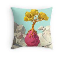 Sky tree Throw Pillow