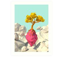 Sky tree Art Print