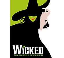 Wicked Broadway Musical Photographic Print