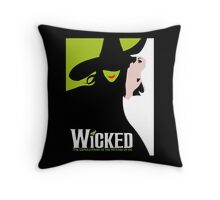 Wicked Broadway Musical Throw Pillow