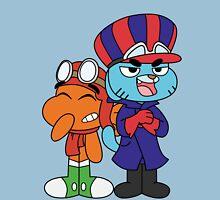 Gumball and Darwin - Wacky Racers Unisex T-Shirt