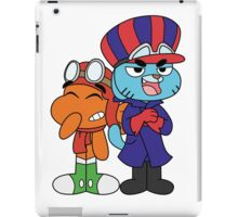 Gumball and Darwin - Wacky Racers iPad Case/Skin