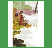 Calvin and Hobbes Adventure Baby Tee