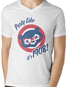 Party Like it's 1908! Mens V-Neck T-Shirt