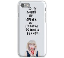 Taylor Swift - Blank Space iPhone Case/Skin