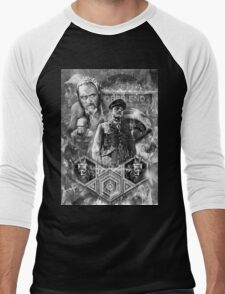 Quatermass and the Pit Movie Design Men's Baseball ¾ T-Shirt