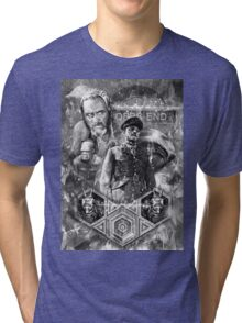 Quatermass and the Pit Movie Design Tri-blend T-Shirt
