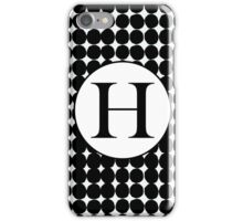 H Bubble iPhone Case/Skin