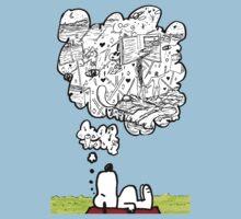 Snoopy Dreams by artbyjoeski