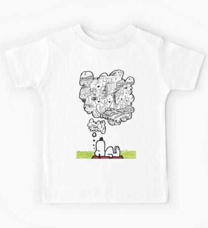 Snoopy Dreams Kids Tee