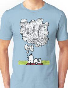 Snoopy Dreams Unisex T-Shirt