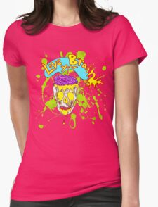Love Your Brain Womens Fitted T-Shirt