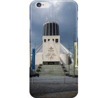 Metropolitan Cathedral, Liverpool, UK iPhone Case/Skin