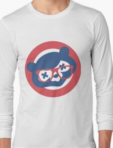 Drunken Cubbie Long Sleeve T-Shirt