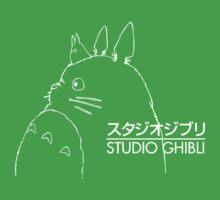 Studio Ghibli Inspired Totoro Baby Tee