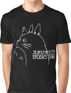 Studio Ghibli Inspired Totoro Graphic T-Shirt