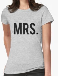 Mrs. Wifey, Wife, Slogan, Tumblr Womens Fitted T-Shirt