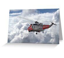 Royal Navy - Sea King Greeting Card