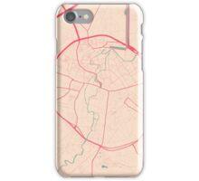 Leuven Map (Springtime) iPhone Case/Skin