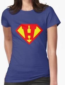 H Super Womens Fitted T-Shirt