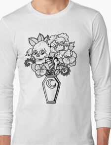 Bouquet Decay: Memento Mori Long Sleeve T-Shirt