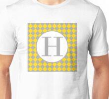 H Checkard Unisex T-Shirt