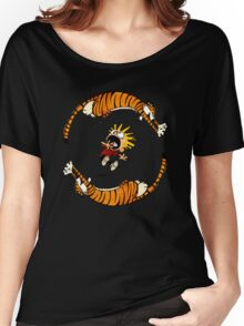 Calvin & Hobbes Women's Relaxed Fit T-Shirt