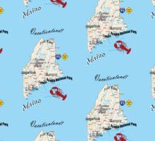 Danita's State of Mind in Maine Sticker
