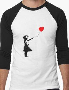 Banksy 1 Men's Baseball ¾ T-Shirt