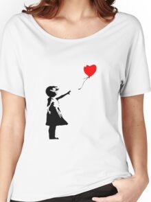 Banksy 1 Women's Relaxed Fit T-Shirt