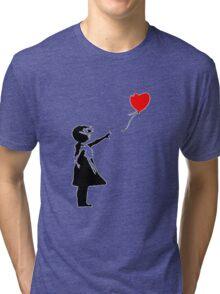 Banksy 1 Tri-blend T-Shirt