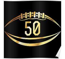 Denver Broncos Super Bowl Poster