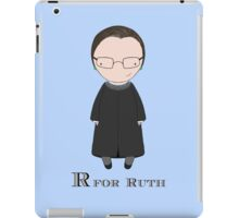 R is for Ruth iPad Case/Skin