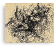 Wolves Canvas Print