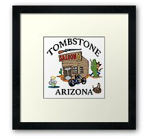 Tombstone, Arizona Framed Print