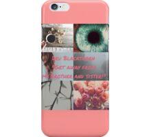 Dru Blackthorn iPhone Case/Skin