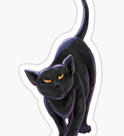 Animal Parade Black Cat Sticker