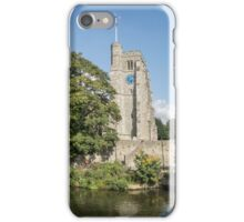 Panorama of Maidstone Riverfront iPhone Case/Skin
