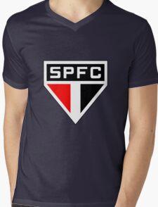 São Paulo Futebol Clube Mens V-Neck T-Shirt