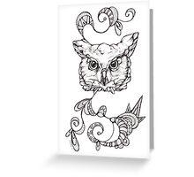 Animal 11 Greeting Card