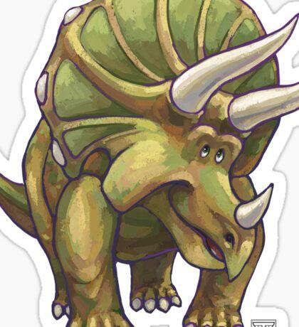 Animal Parade Triceratops Sticker