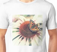 The Butterfly and the Flower Unisex T-Shirt