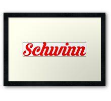 Schwinn Vintage Bicycles Framed Print