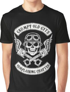 Grumpy Old Gits Chapter Graphic T-Shirt