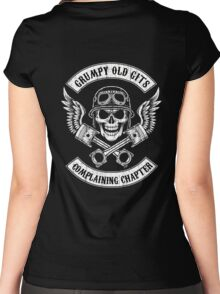 Grumpy Old Gits Chapter Women's Fitted Scoop T-Shirt